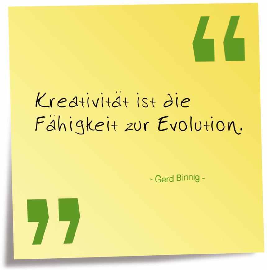 Binnig Kreativität